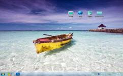 夏日海滩电脑主题 win7版 1.0