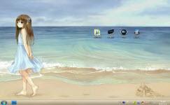 一个人的孤单电脑主题 win7版 1.0