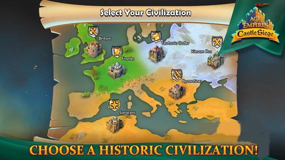 帝国时代围攻城堡 1.10 iPhone版