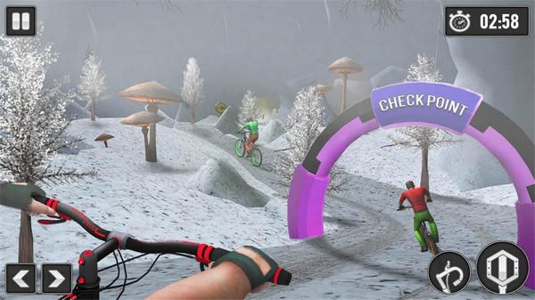 自行车下坡手游