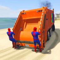 蜘蛛俠垃圾車游戲 1.0 安卓版