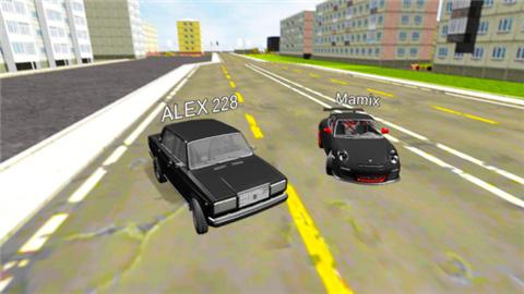 城市驾驶模拟游戏