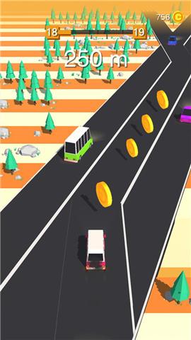 汽车快跑3D游戏