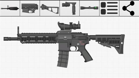 真实武器组装模拟器游戏