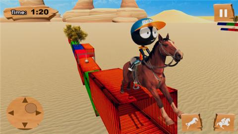 火柴人骑马游戏