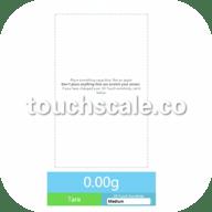 touchscale屏幕电子秤app 3.5.1