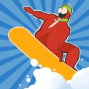 下雪滑雪板大师3D v0.1 安卓版 v0.1