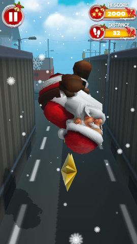 3D圣诞老人跑酷游戏中文版
