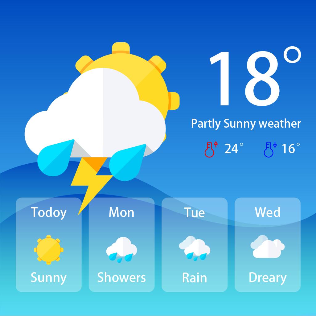 365天气预报几点几分下雨免费版 v1.4