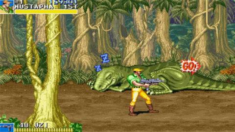 恐龙快打游戏原版单机版