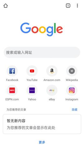 谷歌浏览器app安卓版