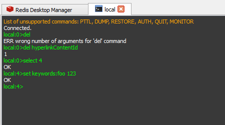 桌面管理工具Redis Desktop Manager