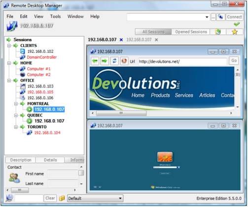 远程桌面管理_Remote Desktop Manager 10.5.2.0 免费版