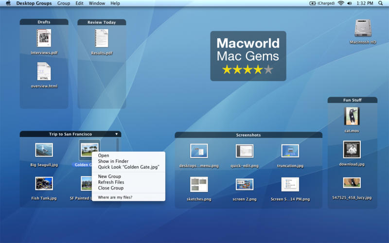 Desktop Groups for Mac桌面管理