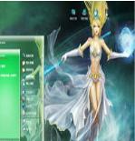 风暴女神电脑主题 xp版 1.0