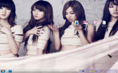 Miss A美女组合电脑主题 win7版 1.0