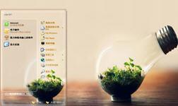 瓶中森林桌面主题 xp版 1.0