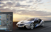 寶馬i8電腦桌面主題 xp版 1.0