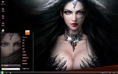 暗影之剑游戏电脑主题  win7版 1.0