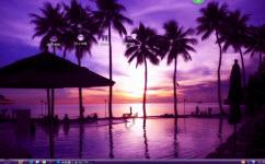 暗紫夕阳电脑主题 xp版 1.0