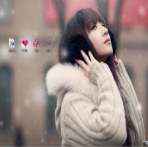 冬季清纯女孩电脑主题 win7版 1.0
