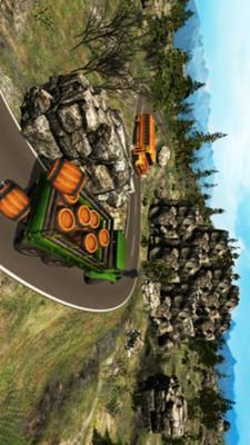 3D登山运输车