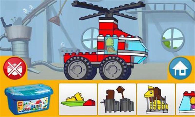 樂高玩具車