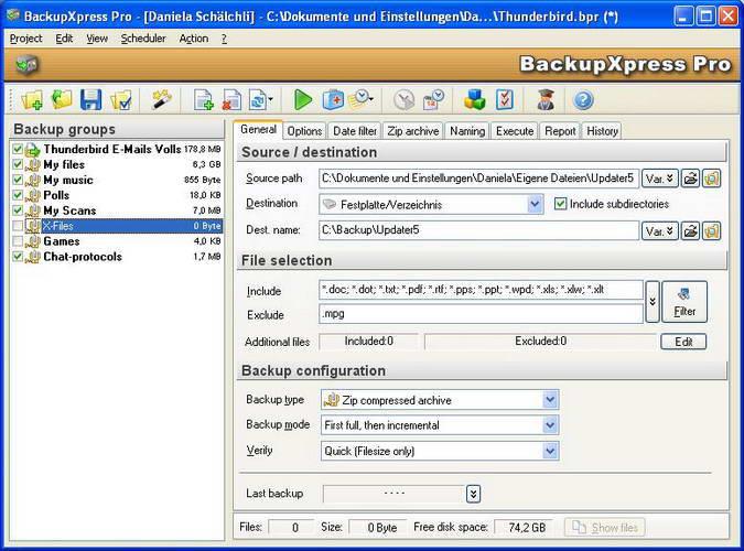 BackupXpress Pro 3.0.2 Build 114  绿色正式版