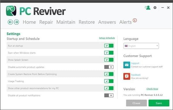 电脑优化软件(PC Reviver) 3.9.0.22 中文免费版