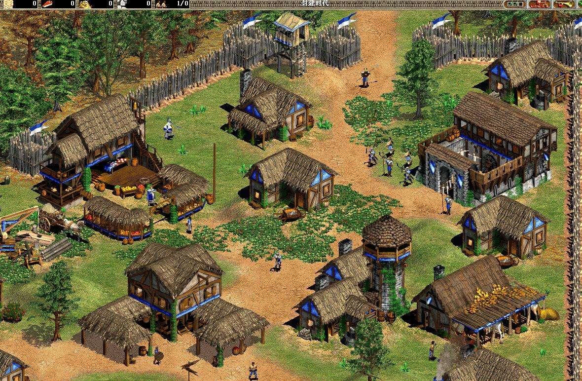 帝国时代2经典地图包 1.0