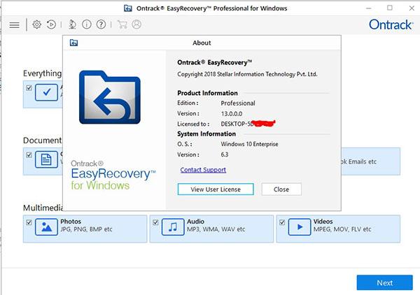 数据恢复软件EasyRecovery破解版