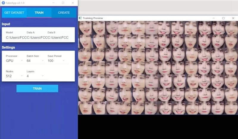 AI换脸软件(FakeApp) 2.2.0 中文破解版