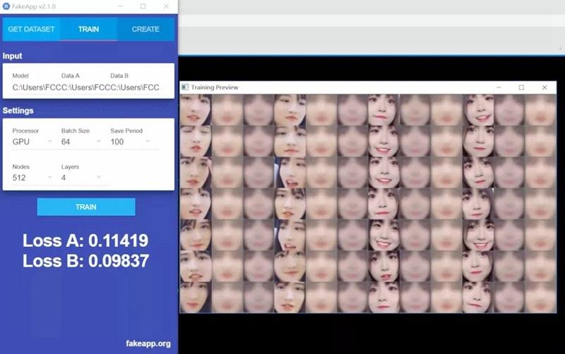 AI换脸软件(FakeApp)