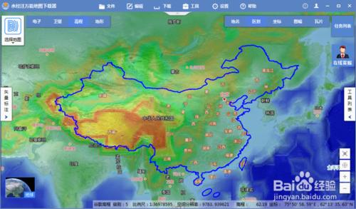 中国地图全图高清版第6张预览图