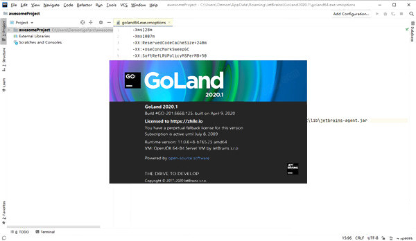 JetBrains GoLand社区版下载(附激活码) 2020.1 中文版