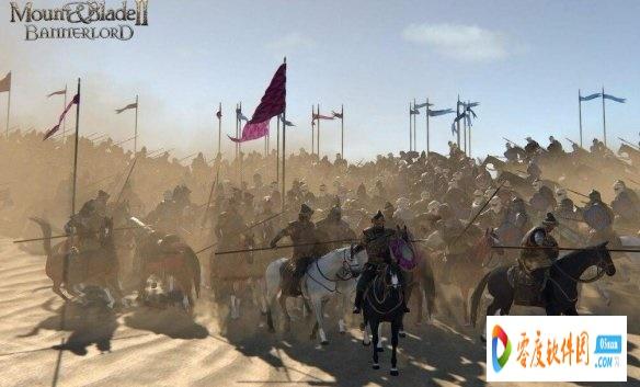 骑马与砍杀2更好的骑马冲锋伤害MOD 最新版