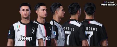 实况足球2020C罗脸型补丁 绿色版 1.0