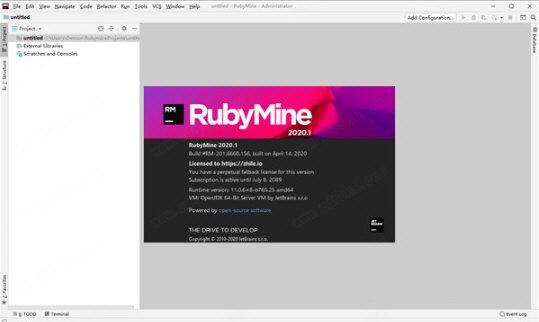 RubyMine破解版下载 2020.1.2 免费版