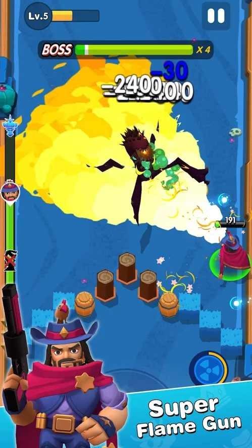 狂野牛仔射手游戏下载安卓版 1.3.6 免费版