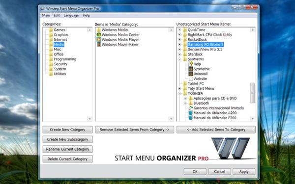Winstep Start Menu Organizer(多功能开始菜单管理器)