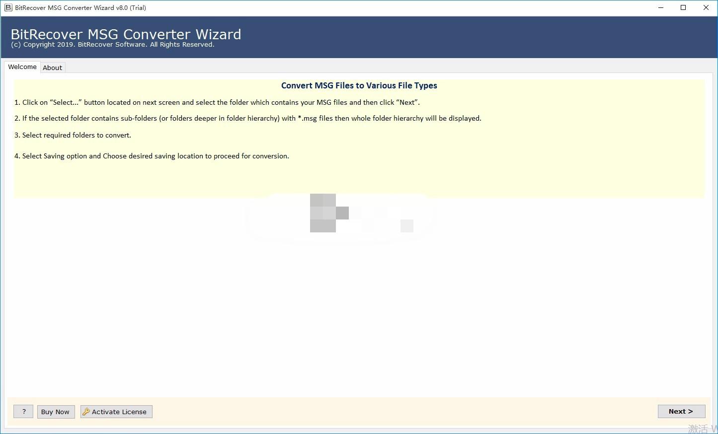 BitRecover MSG Converter Wizard(MSG转换器)