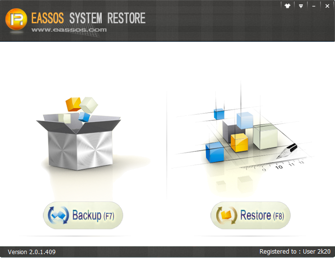 Eassos System Restore(数据文件备份工具)最新版下载