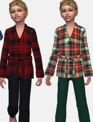 模拟人生4少年长袍睡衣MOD 中文免费版 1.0