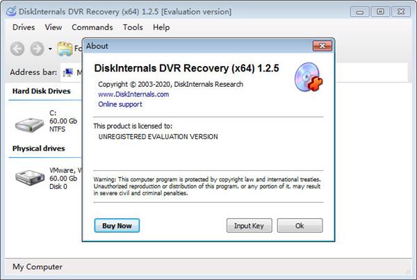 DiskInternals DVR Recovery(DVR数据恢复软件)