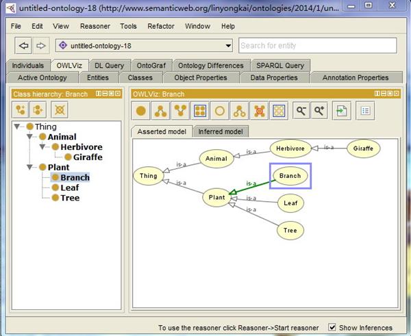 Protege软件(知识图谱工具)